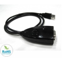 Convertor USB serial RS232 1 port (pret redus)