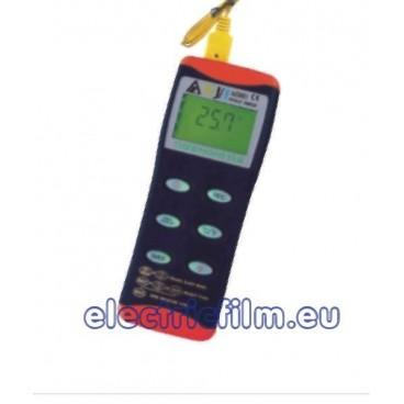 Termometru portabil k,j,t cu inregistrare 8851/8852