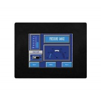 EZSeries Touchpanel, 6inch white on blue Display