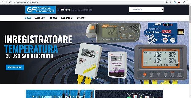site inregistrator-temperatura.ro