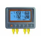 Inregistrator temperatura multicanal 4x termocuplu K cu SD Card