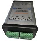 Modul monitorizare IP temperatura si umiditate RS485 cu releu conectori